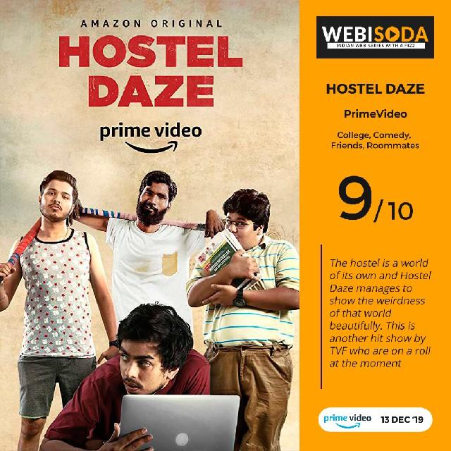 Hostel Daze - Web Series Review